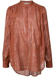Ulla Johnson mandarin pullover blouse - Red