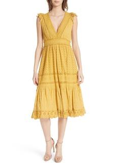 Ulla Johnson Marjorie Eyelet Dress
