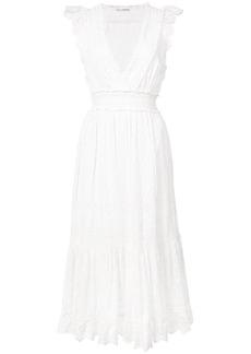 Ulla Johnson Marjorie floral eyelet dress - White