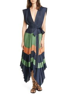 Ulla Johnson Mayshe Handkerchief Hem Dress