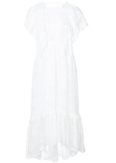 Ulla Johnson Mildred floral lace dress - White