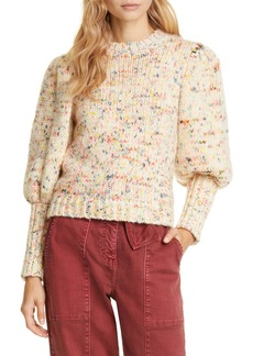 Ulla Johnson Moxie Balloon Sleeve Wool Sweater