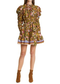 Ulla Johnson Naima Ruffle Long Sleeve Dress