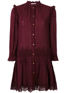 Ulla Johnson Nessa lace dress - Red