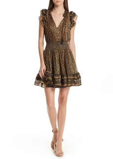 Ulla Johnson Nyssa Floral Silk Blend Dress