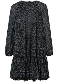 Ulla Johnson patterned shift dress - Blue
