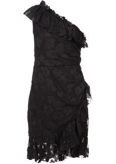 Ulla Johnson Rimona asymmetric floral dress - Black