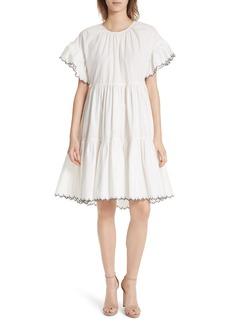 Ulla Johnson Rosemarie Cotton Poplin Dress