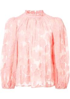 Ulla Johnson Sandrine floral blouse - Pink & Purple