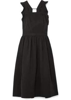 Ulla Johnson Willa Ruffled Twill Midi Dress