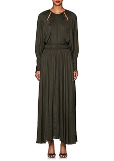 Ulla Johnson Women's Adonia Washed Satin Maxi Dress