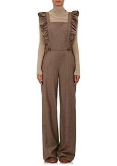 Ulla Johnson Women's Agata Checked Flannel Jumpsuit