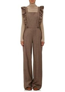 Ulla Johnson Women's Agata Checked Wool Flannel Jumpsuit
