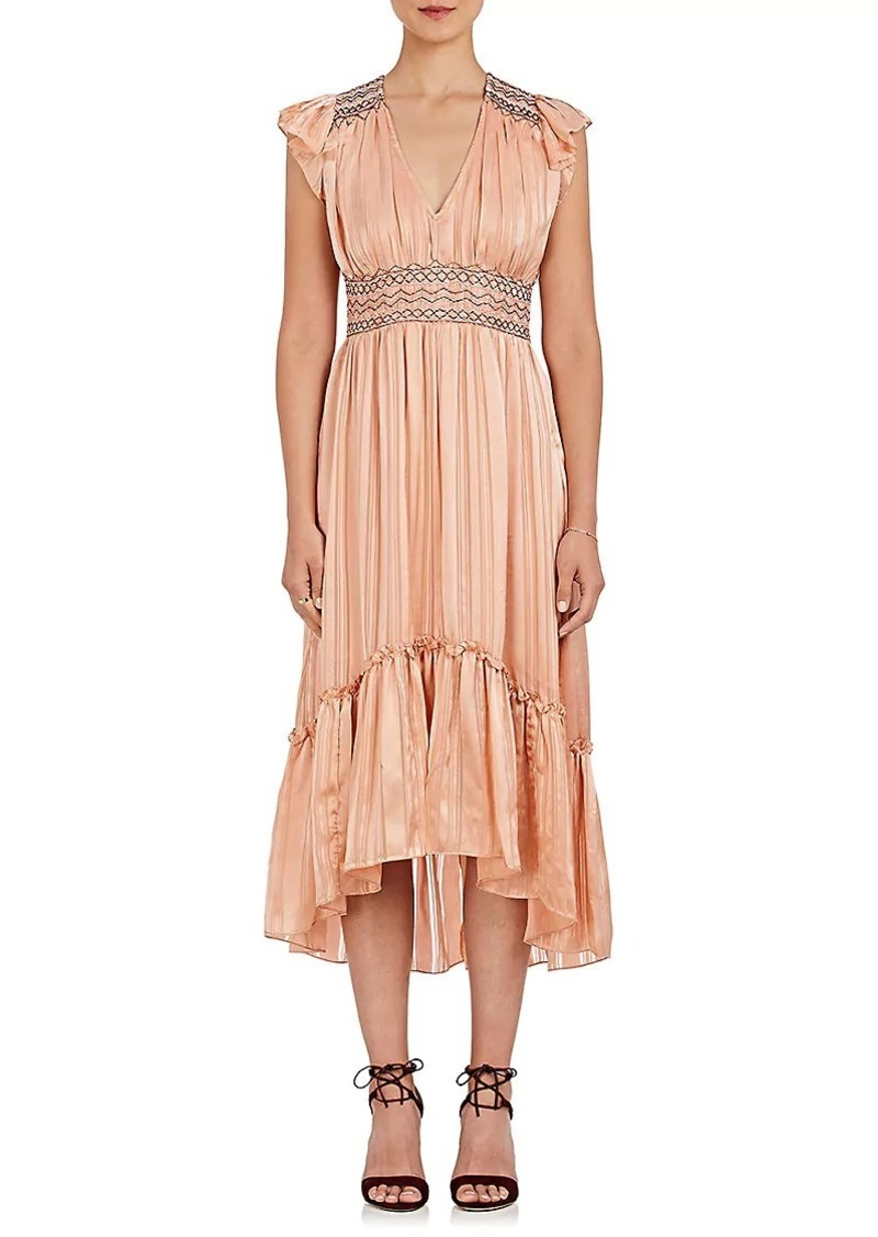 b77800b25c Ulla Johnson Ulla Johnson Women s Agatha Silk Midi-Dress