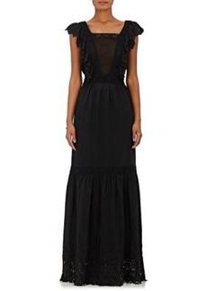 Ulla Johnson Women's Amelie Silk Crepe Maxi Dress