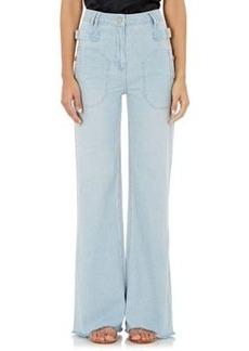 Ulla Johnson Women's Anna Wide-Leg Jeans
