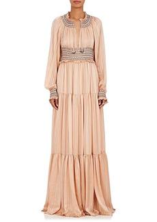 Ulla Johnson Women's Athena Silk Maxi Dress
