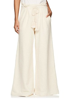 Ulla Johnson Women's Ayana Cotton Terry Drawstring Pants