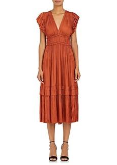 Ulla Johnson Women's Bella Matte Satin Midi-Dress