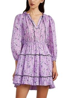 Ulla Johnson Women's Brienne Floral Cotton-Silk Dress