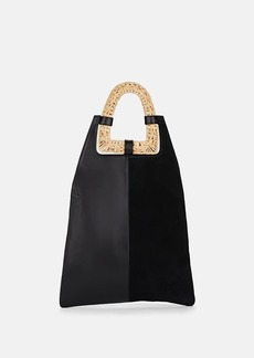 Ulla Johnson Women's Caletha Leather & Suede Shoulder Bag - Black