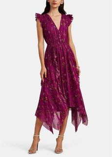 Ulla Johnson Women's Ciel Floral Silk Dress