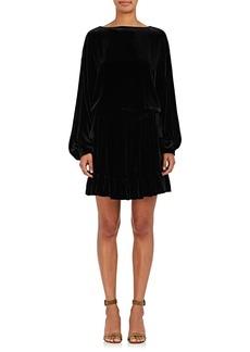 Ulla Johnson Women's Claudette Silk-Blend Velvet Dress