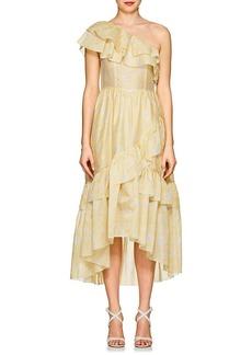 Ulla Johnson Women's Clemente Cotton-Silk Organza Dress