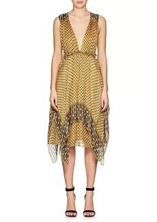Ulla Johnson Women's Colette Silk Chiffon Midi-Dress