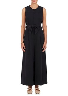 Ulla Johnson Women's Cunningham Twill Belted Jumpsuit