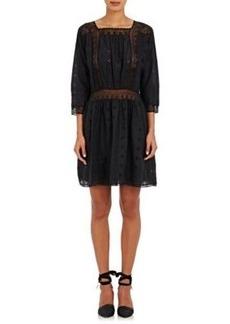 Ulla Johnson Women's Darya Lace-Inset Dress