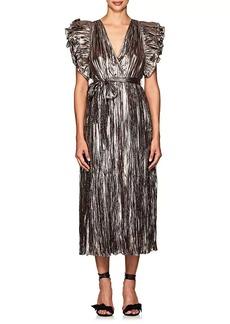 Ulla Johnson Women's Donna Ruffle Silk-Blend Dress