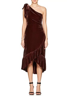 Ulla Johnson Women's Elisa Velvet Midi-Dress