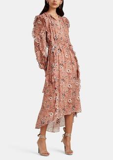 Ulla Johnson Women's Ellette Floral Silk Dress