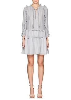 Ulla Johnson Women's Essie Striped Cotton Voile Minidress