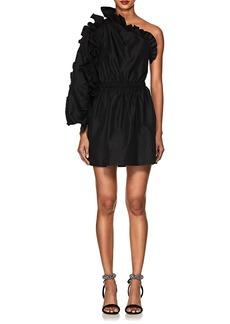Ulla Johnson Women's Falaise Ruffled One-Sleeve Minidress
