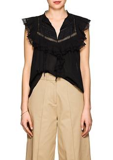 Ulla Johnson Women's Fannie Cotton Blouse
