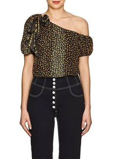 Ulla Johnson Women's Femi Floral Silk Top