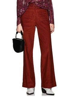Ulla Johnson Women's Fonda Cotton Corduroy Wide-Leg Pants