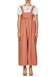 Ulla Johnson Women's Iggy Twill Wide-Leg Jumpsuit