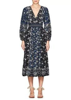 Ulla Johnson Women's Iona Floral Cotton Dress