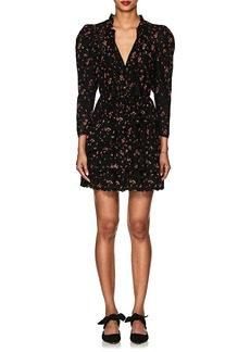 Ulla Johnson Women's Josette Floral Cotton Eyelet Dress