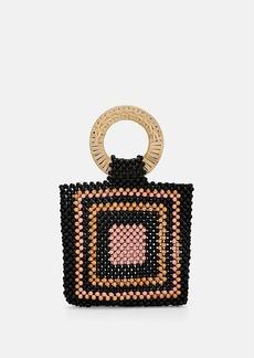 Ulla Johnson Women's Keya Beaded Mini Tote Bag