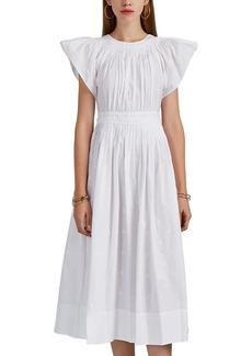 Ulla Johnson Women's Lottie Embroidered Cotton Dress