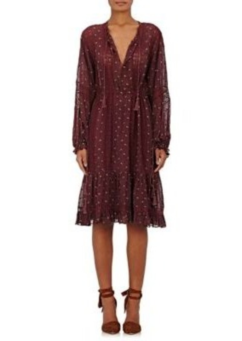 Ulla Johnson Women's Myna Embroidered Georgette Dress