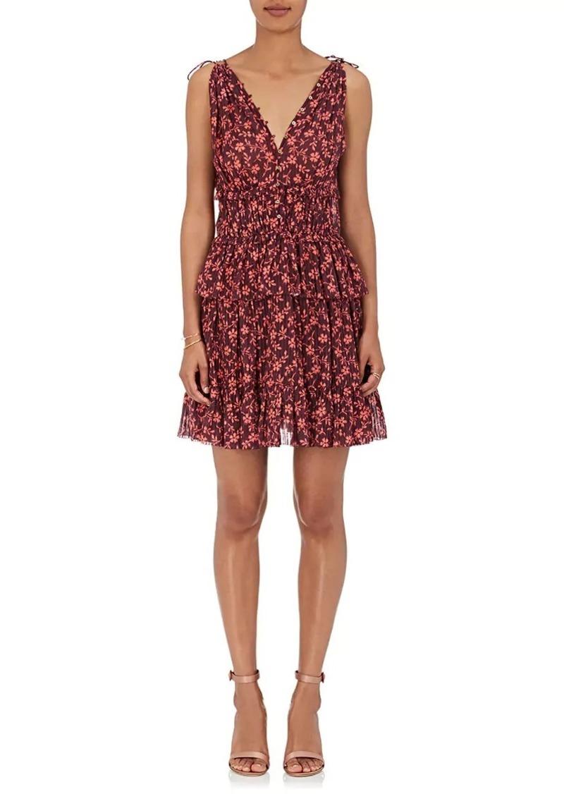 Ulla Johnson Women's Noelle Floral Cotton-Silk Minidress