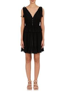 Ulla Johnson Women's Noelle Ruffle Silk Minidress