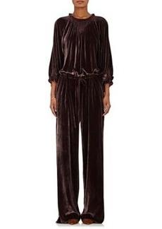 Ulla Johnson Women's Sephare Velvet Jumpsuit