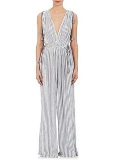 Ulla Johnson Women's Tallis Striped Cotton Jumpsuit