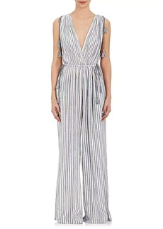 Ulla Johnson Women's Tallis Striped Cotton Jumpsuit